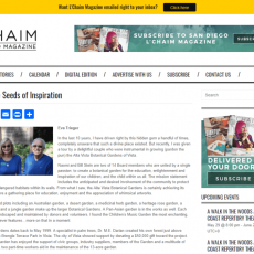 Planting the Seeds of Inspiration – L'Chaim